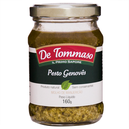Molho Pesto Genoves De Tommaso 160 g