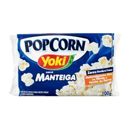 Pipoca Para Microondas Manteiga 100 g