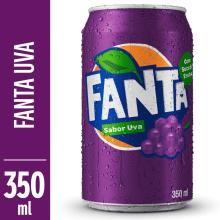 Refrigerante Fanta Uva 350 mL