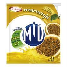 Refresco Mid Maracujá 25 g