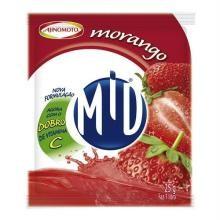 Refresco Mid Morango 25 g