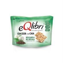 Snack Cracker Eqlibri Mussarela De Búfula 45 g