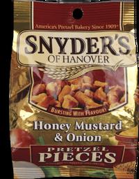 Snack Snyders Cebola, Mel E Mostarda 56,7 g