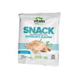 Snack Vitalin Sem Glúten Gergelim E Alecrim 25 g