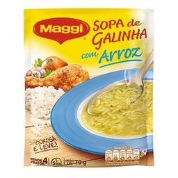 Sopa Maggi Galinha E Arroz 70 g