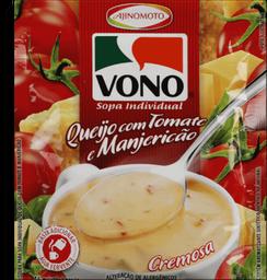Sopa Vono Queijo Com Tomate E Manjericão 16 g