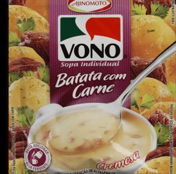 Sopa Vono Batata Com Carne 18 g