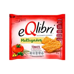 Eqlibri Biscoito Tomate e Cebolinha Multigrãos Pacote