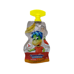 Danoninho Iogurte Infantil Pra Levar Morango e Banana