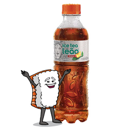 Ice Tea Leão Pêssego Zero