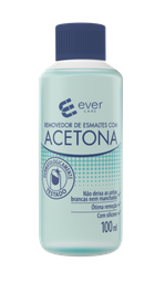 Removedor De Esmalte Com Acetona Ever Care 100 mL
