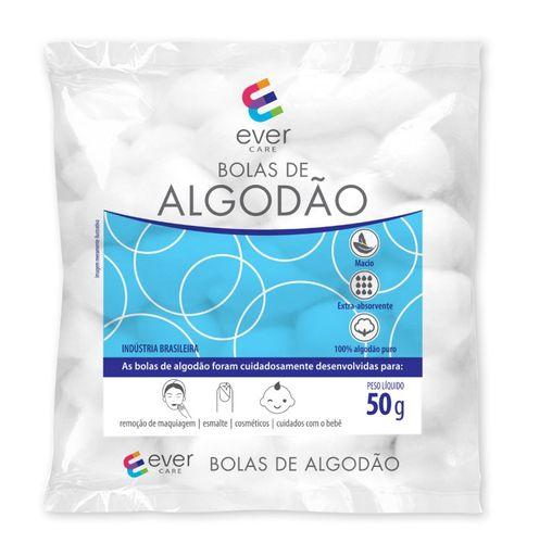 Bolas De Algodão Ever Care 50 g