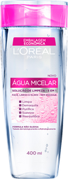 Solução De Limpeza Facial L'Oréal Água Micelar 400 mL