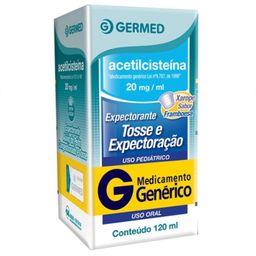 Acetilcisteína Xarope 20Mg/ mL Genérico Germed 120 mL