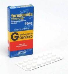 Furosemida 40Mg Genérico Neo Química 30 Comprimidos