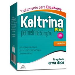 Keltrina Plus 50Mg/ mL Loção Cremosa Multilab 60 mL