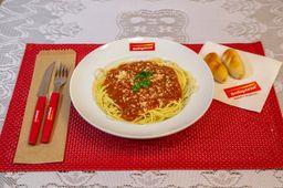 Espaguete à Amatriciana (Picante)