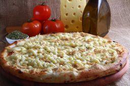 Pizza De Frango Com Requeijão