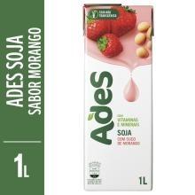 Suco Ades Sabor Morango 1 L