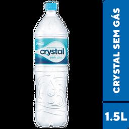 Água Crystal Sem Gás 1,5 L
