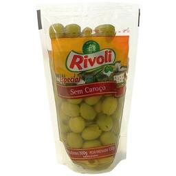 Azeitona Rivoli Verde Sem Caroço 150 g