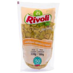 Azeitonas Rivoli Verde Fatiada Sachê 150 g