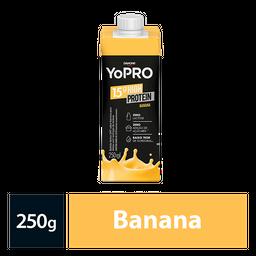Bebida Lactea Com 15G De Proteína Yopro Banana 250Ml