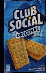 Biscoito Club Social Original Com De 24 g Cada 6 Und