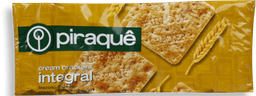 Biscoito Cream Cracker Integral Piraquê 200 g