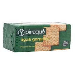 Biscoito Piraquê Água Gergelim Com 200 g