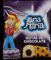 Bolinho Ana Maria Gotas De Chocolate 80 g