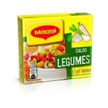 Caldo De Legumes Maggi Maggi Tablete 57 g