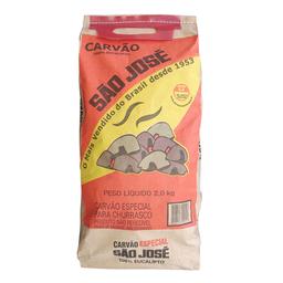 Carvão Vegetal Churrasqueira São José 2000 g