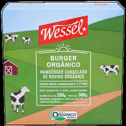Hambúrger Bovino Orgânico Wessel 300 g