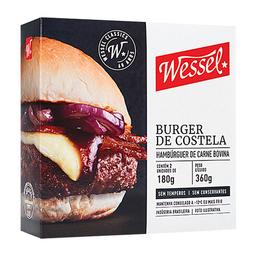 Hambúrguer Costela Wessel 360 g