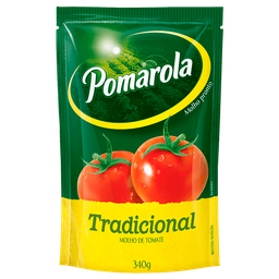 Molho Pomarola De Tomate Tradicional Sachê 340 g