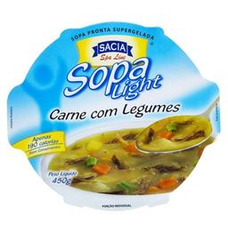 Sopa Sacia Carne Legumes 450 g