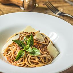 Espaguete a Bolonhesa - 2 Pessoas