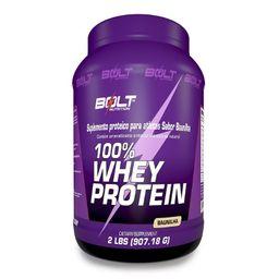 Baunilha Bolt Nutrition 100% Whey Protein 900 g