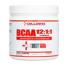 Bcaa 12:1:1 Powder Laranja Cellgenix 200 g