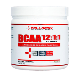 Bcaa 12:1:1 Powder Limão Cellgenix 200 g