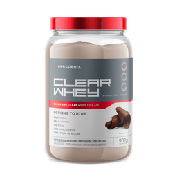 Whey Protein 100% Isolate Clear Chocolate Cellgenix 907 g