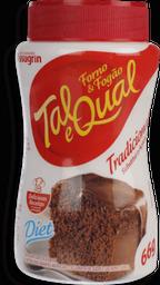 Adoçante Dietético Em Pó Para Forno & Fogão Tal & Qual 66 g