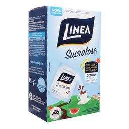 Adoçante Em Pó Sucralose Linea Com 100 Sachês 80 g