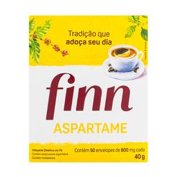 Adoçante Finn Aspartamen Com 50 Envelopes