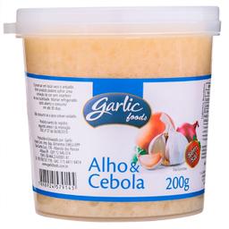Alho Com Cebola Garlic 200 g