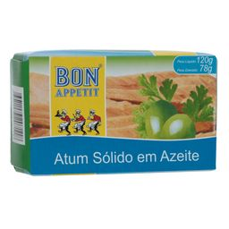 Atum Sólido Azeite Bon Appetit 120 g