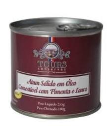 Atum Solido Com Pimenta E Louro Tours 190 g