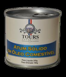 Atum Solido Em Óleo Tours 190 g