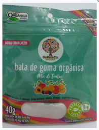 Bala De Goma Orgânica Sabor Mix De Frutas Dubalaco